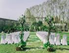 户外草坪小清新主题婚礼 一个故事一个你