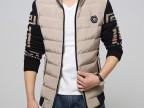 爆款男士韩版羽绒棉衣男加绒加厚保暖外套qtp165