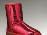 亮片UGG雪地靴皮毛一体女款3161高档雪地靴代发国内外批发