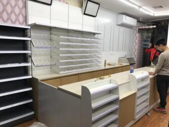 深圳市美宜佳便利店收银台货架上门安装电话是多少