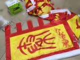 呼啦啦旗帜制作 西安仿古梭边旗 陕西大龙旗设计