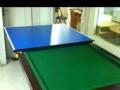 折叠台球乒乓两用桌