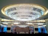 中山横栏厂家定制圆形吸顶水晶吊灯客厅餐厅