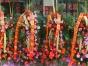 宝宝生日派对 氦气球生日派对 鲜花场地布置