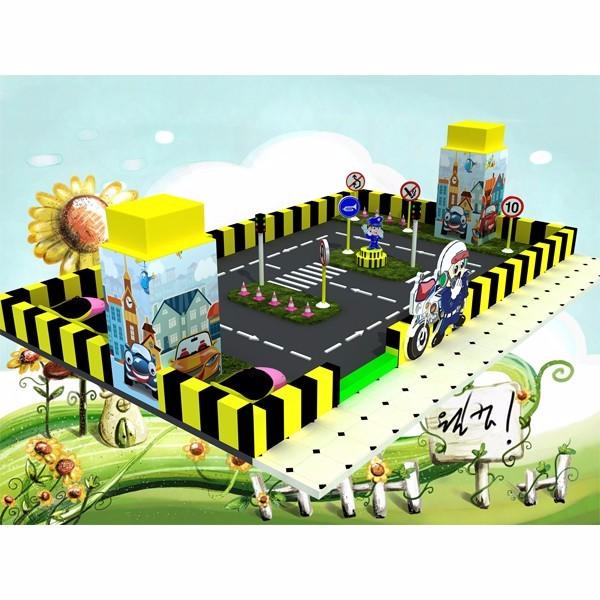 广西淘气堡儿童乐园积木益智玩具滑梯蹦床亲子拓展球池闯关设施
