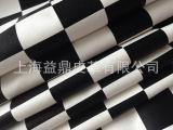 【可靠品质】黑格子PVC革 PU革 半PU 服装革 手套革