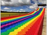 戶外游樂設施必玩 彩虹滑梯 七彩滑道 好玩四季滑道 廠家直銷