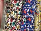 2015款新花、精梳纯棉莱卡印花汗布、全棉儿童印花布、米奇印花布