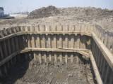 湖北钢板桩施工,黄冈拉森桩租赁,黄冈钢板桩打拔支护围堰租赁