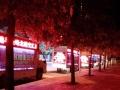 高清全彩带舞台LED广告车租赁