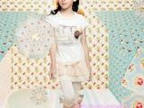 新款夏装小童中大女童装,力洋依莎贝儿蕾丝淑女韩版蛋糕裙连衣裙
