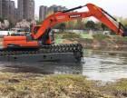 海西湿地两用挖掘机出租多少钱
