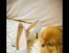 出门纱礼服,婚鞋