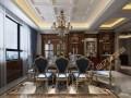 新华联二期320平美式风格装修案例效果图-业之峰装饰