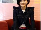 小西装秋外套女修身韩版秋短款7分袖显瘦女