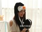 爱君品牌玩具--卡通动物帽子--长款黑色企鹅帽子