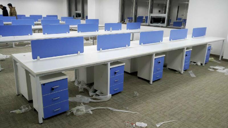 天津兴业办公家具厂定做屏风办公桌电话桌培训桌