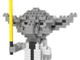 俐智积木 俐智loz小颗粒钻石拼装儿童玩具创意拼装9336尤达