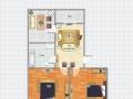 《明珠无虚假》沃尔玛附近多层2室拎包入住仅租1000元每月