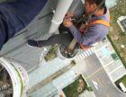 北京蜘蛛人外墙雨水管维修,落水管加固,吊绳外墙PVC管安装