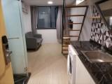 整租 8线地铁站,LOFT高层电梯一室一厅,配置齐全