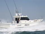 凌波造船16米游釣艇MF55遠海釣魚艇商業船內機高速艇
