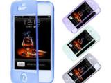 iphone5/5S手机壳 透明翻盖TPu 苹果5手机皮套 左翻