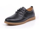 秋季新款韩版真皮皮鞋舒适平底男式真皮单鞋免费代理送增高鞋垫