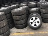 拆车厂零售原装二手拆车轮胎 回收轮毂 16寸以上