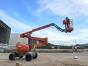东莞石排18米电动曲臂升降机出租 载人升降车出租