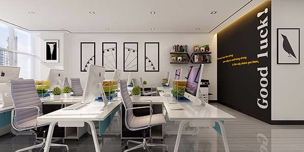 合肥办公室装修知识中墙面颜色的选择要点