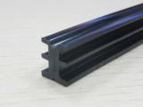 PVC 纱网压条 硬胶 塑料门窗配件 黑色 T1147 异型材硬