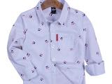 外贸原单童装 韩版卡通纯棉多色精品高档儿童衬衫 打底衫厂家批发