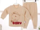 婴儿装新生儿衣服弹力棉肩开套 婴儿服市场童装 一件起批2015新