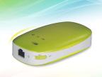 4合1 无线路由器移动电源 3000mA  wifi 3G 云储存 可定制log