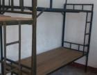 1~2折出售一批学生铁架床以及棉被 纯棉三件套课桌(8成新)