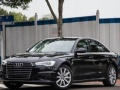 洛阳新款奥迪A6黑色豪华版车商务接待或婚庆出租