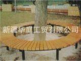 新疆塑木公园椅 新疆户外休闲椅抗紫外线耐用 华庭公园椅厂家