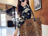 2014时尚新款 豹纹包包新款豹纹女包单肩包斜挎包女包批发