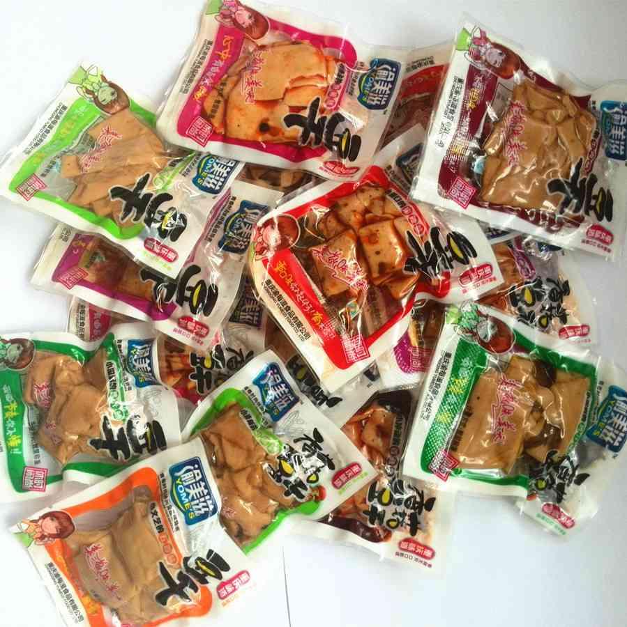 特价包邮 渝美滋重庆特产食品 散装豆腐干 休闲零食500g 8口味