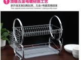 厨房置物架铁线沥水碗碟置物架金属置物架厂家