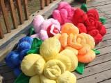 NICI  情人节礼物 沙发 玫瑰花抱枕 靠垫四色选 可爱礼品抱