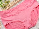 内裤女纯棉 三角裤中腰内裤 全棉质提臀性感 纯色纯棉