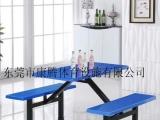 食堂餐桌饭堂桌椅小卖部门口桌子快餐店餐桌连体餐桌