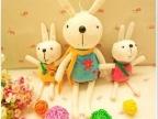 特价 可爱彼得兔米兔毛绒公仔/玩偶 咪兔挂件带吸盘 汽车饰品礼物