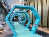 杭州萧山灯箱招牌制作户外背景形象墙设计