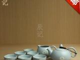 正品恒福东道汝窑祈福茶壶茶杯套装景德镇开片陶瓷功夫茶具套组