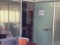 星海大厦188平办公装修5500/月 玻璃隔断
