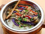 重庆学习木桶饭技术里学习木桶饭学习