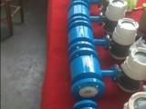 污水检测四氟衬里,碳钢外壳,316电极一体型电磁流量计